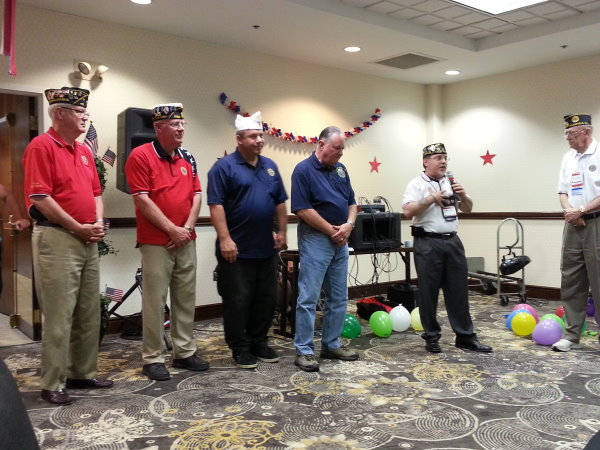 American Legion Post 52 Romeoville 2014 Convention Hospitality Room