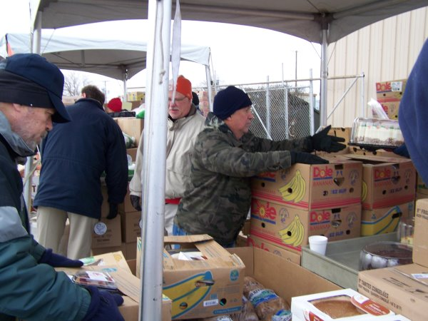 American Legion Post 52 Romeoville 2014 Thanksgiving Food Pantry